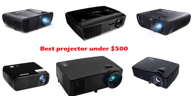 Best projector under $500