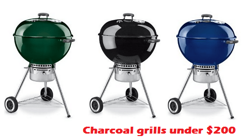 best charcoal grills under $200
