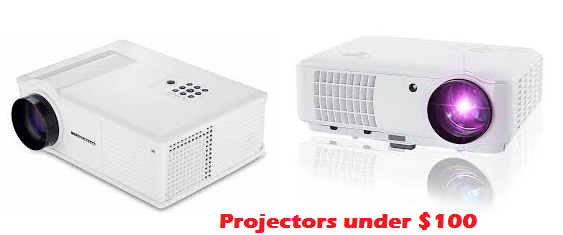 best projector under $100
