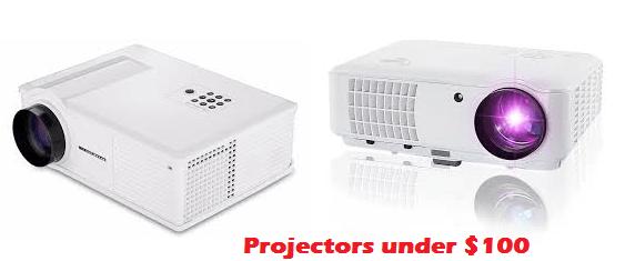 best projector under $100