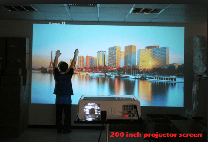 Best 200 inch projector screen