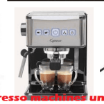 Top 3 Best Espresso Machines Under $100 Of 2020